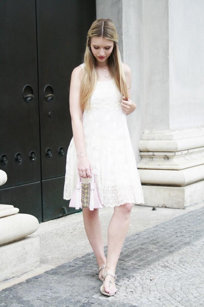 Franziska Elea Fashionblog München vintage Kleid Sommer 2015 bayerische Staatsoper