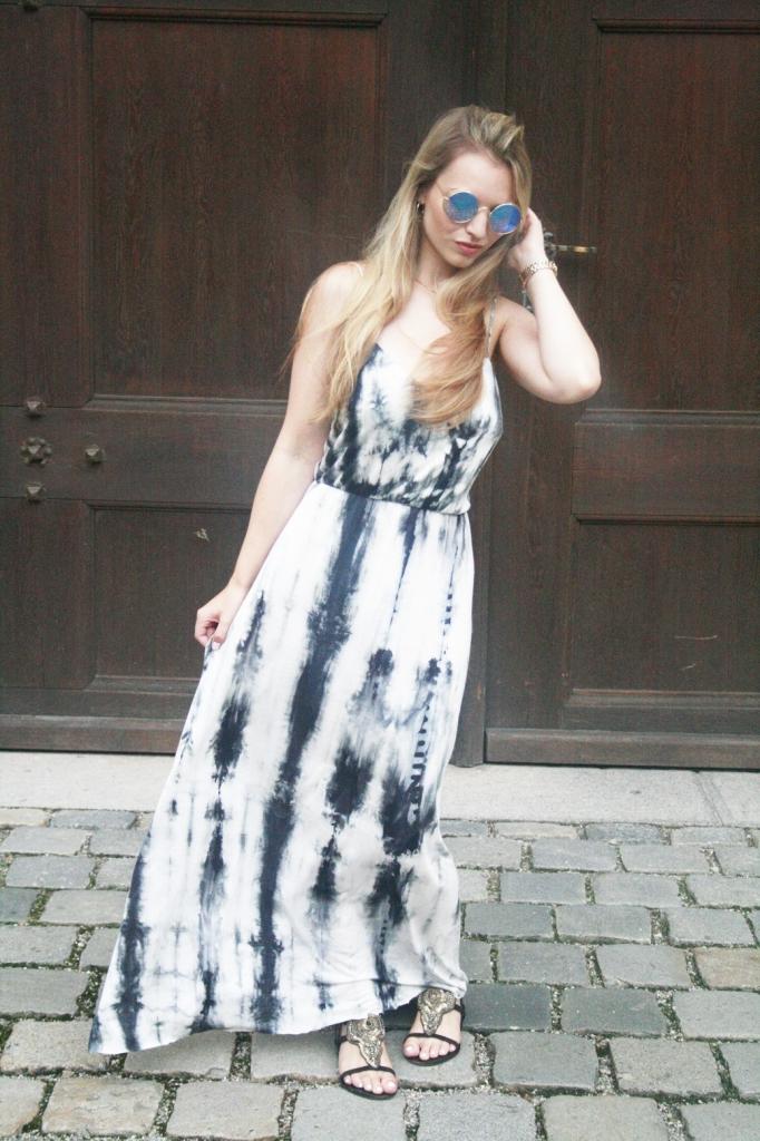 Franziska Elea Sommer 2015 Batikkleid Trend Sassyclassy München