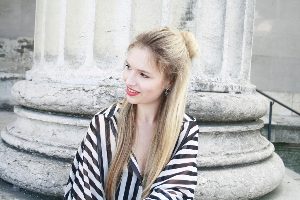 Franziska Elea roter Lippenstift Chanel