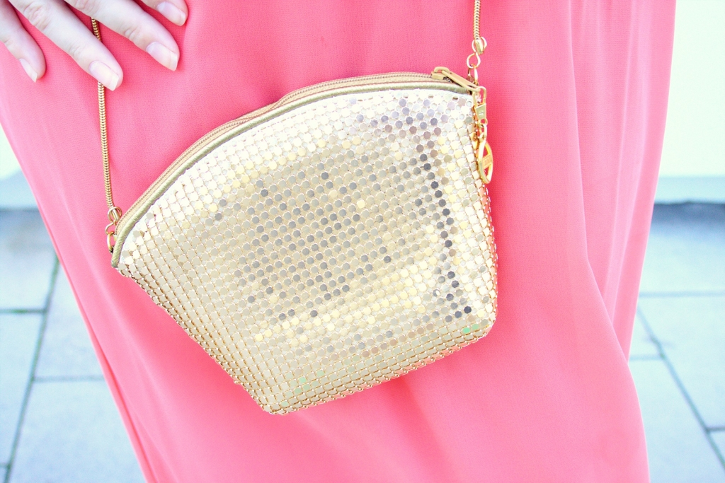 Franziska Elea Tasche Second Hand gold