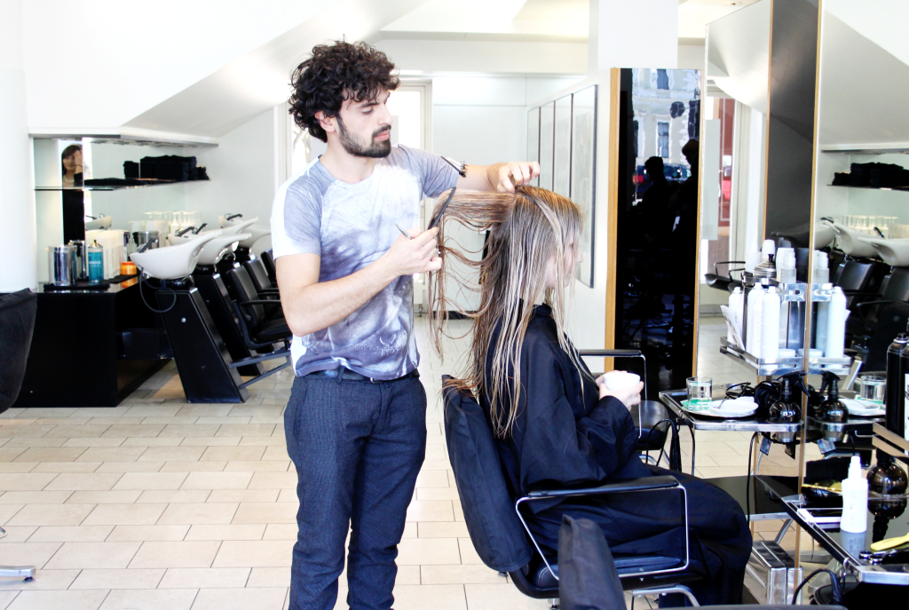 Sassoon Frisur Haarschnitt Franziska Elea Blogger