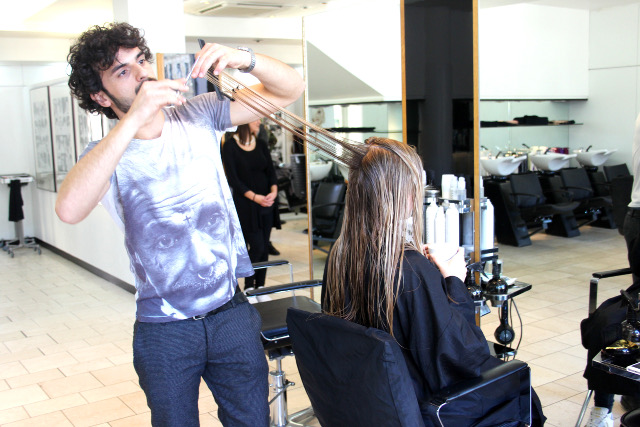 Sassoon München Stefano Haare schneiden Franziska Elea Fashionblog
