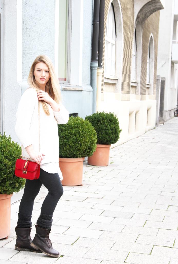 Blogger München Umhängetasche Valentino