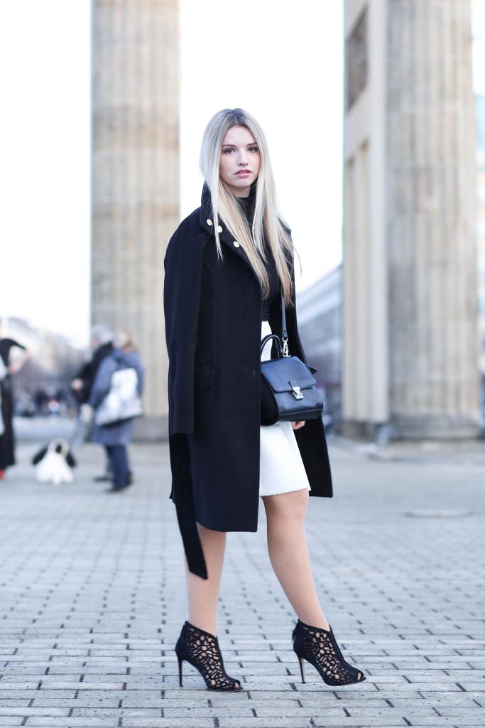 Fashion Week Berlin Outfit Fashionblog Modeblog München Fashionblogger Modeblogger deutsche Blogger MBFW Mercedes Benz Style Berliner Fashionweek Hallhuber Janiko Dorothee Schumacher