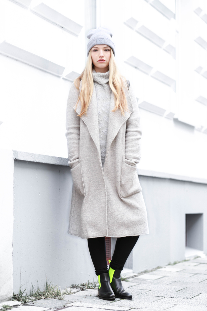 Fashionblog Modeblog München Serfan Chelsea Boots Zara Oversize Mantel Modeblogger Fashionblogger Franziska Elea