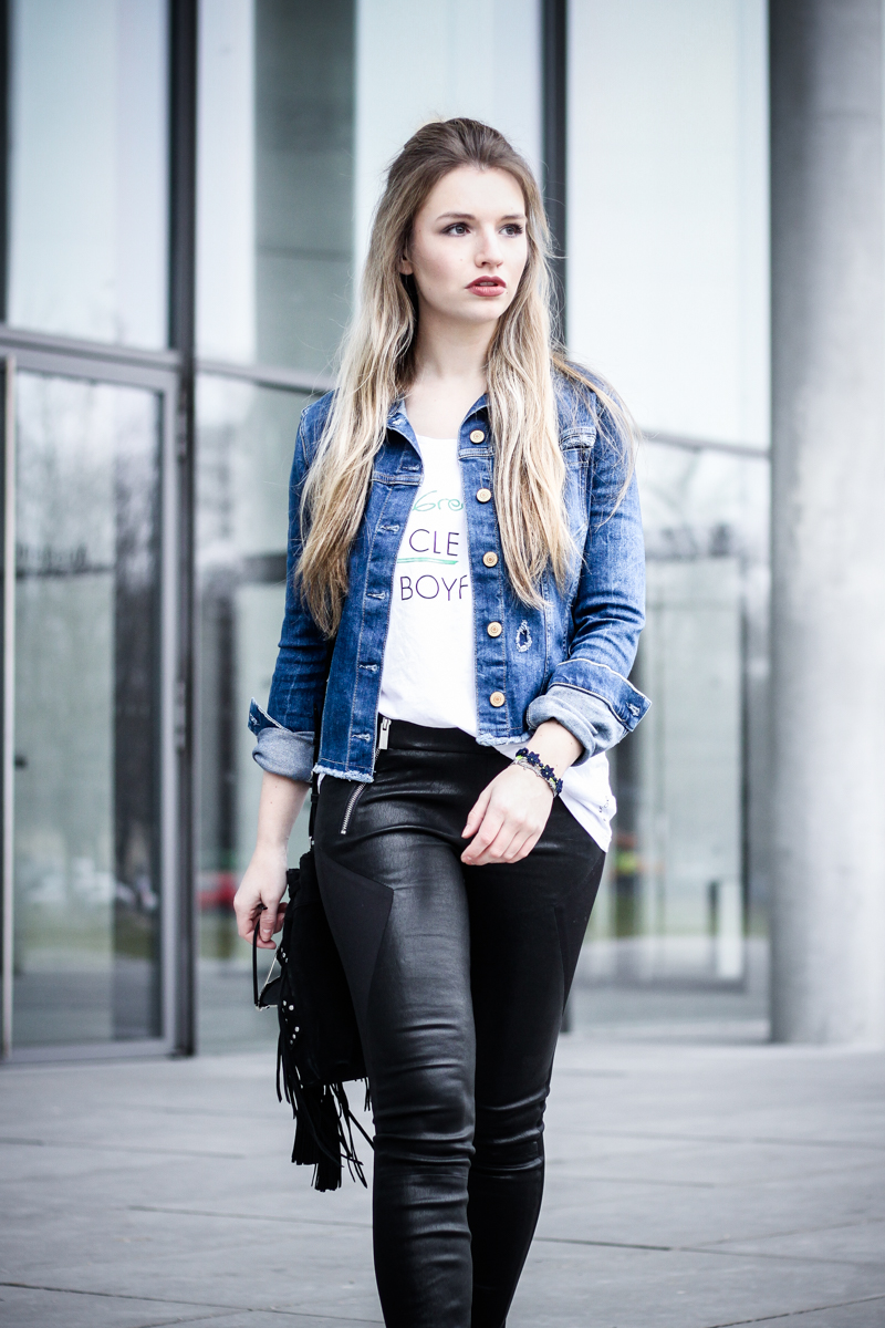 Ootd Guess Eco Collection Fashionblog Aus M Nchen