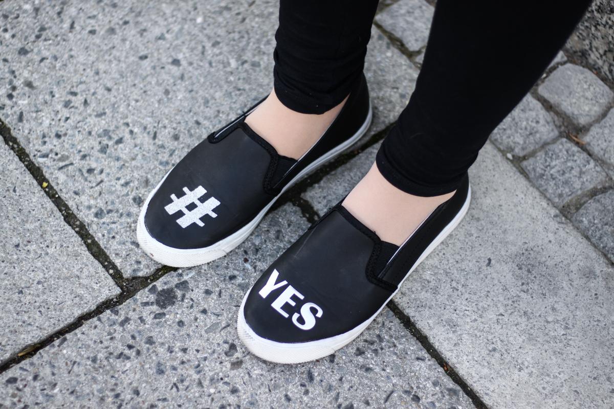 Franziska Elea Blogger Fashionblog Outfit Modeblog München Half Bun Frisur Streetstyle Deutschland deutsche Blogger Hashtag Schuhe yes marcell von Berlin Vans