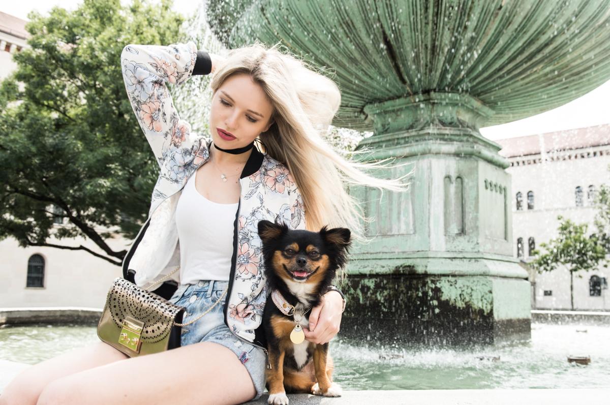 Franziska-Elea-deutsche-Blogger-Modeblog-Fashionblog-München-Brunnen-Uni Look Styling Style Kombination