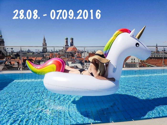 franziska elea deutsche blogger modeblog fashionblog m nchen pool roof top einhorn luftbett. Black Bedroom Furniture Sets. Home Design Ideas