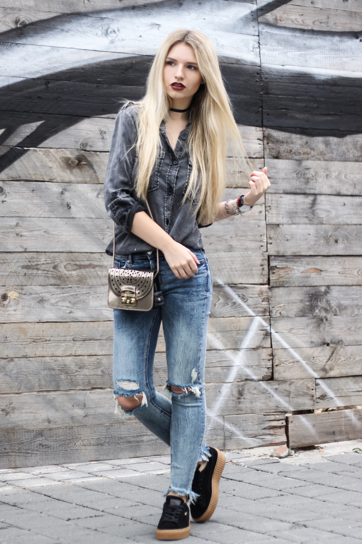 franziska-elea-outfit-kombination-mit-puma-creeper-creepers-rihanna-streetstyle-von-bloggern-blog-jeans-mit-loechern-destroyed-sneaker-boyfriend-hemd-furla