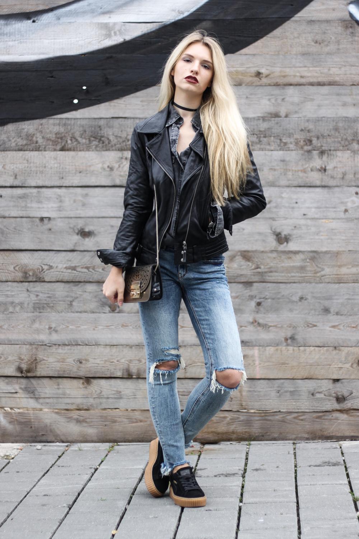 franziska-elea-outfit-kombination-mit-puma-creeper-creepers-rihanna-streetstyle-von-bloggern-blog-lederjacke-bikerjacke-laessiger-look-mit-schwarz