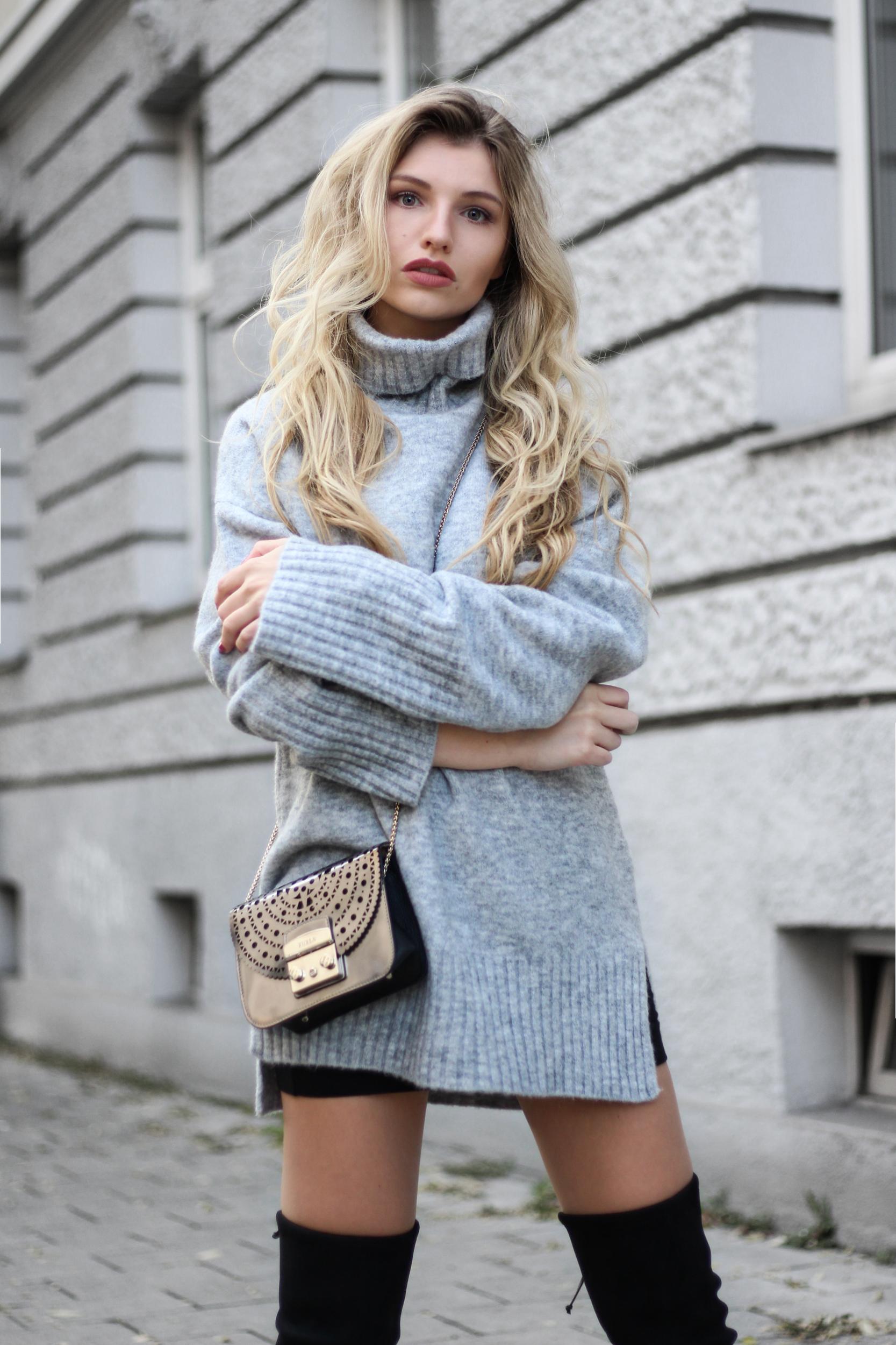Overknee Stiefel + Oversized Strickpullover – Fashion Blog aus München 0d9c3a5ec9