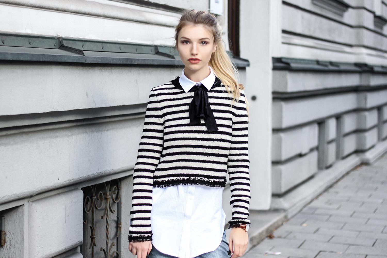 Rabatt Gutscheincode günstig franziska-elea-blogger-aus-muenchen-bluse-hemd-unter-pulli ...