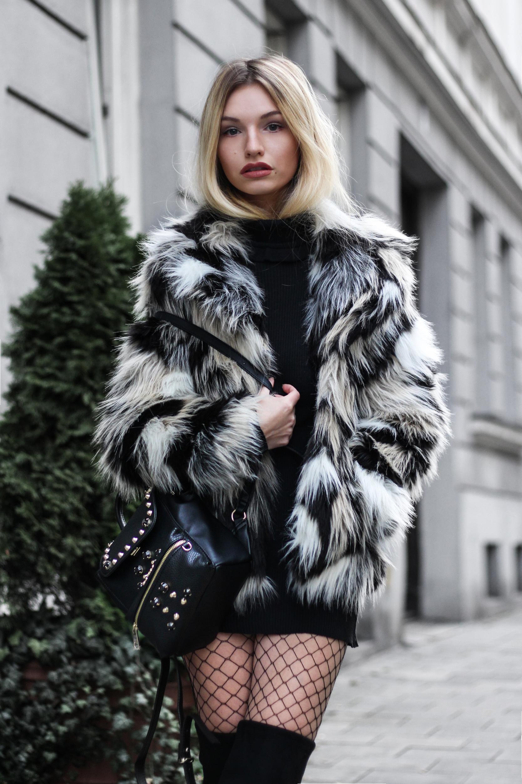 franziska-elea-blogger-aus-muenchen-fake-fur-jacke-netzstrumpfhose-overknee-stiefel-guess-rucksack-felljacke-winter-look-style-fashionblogger_