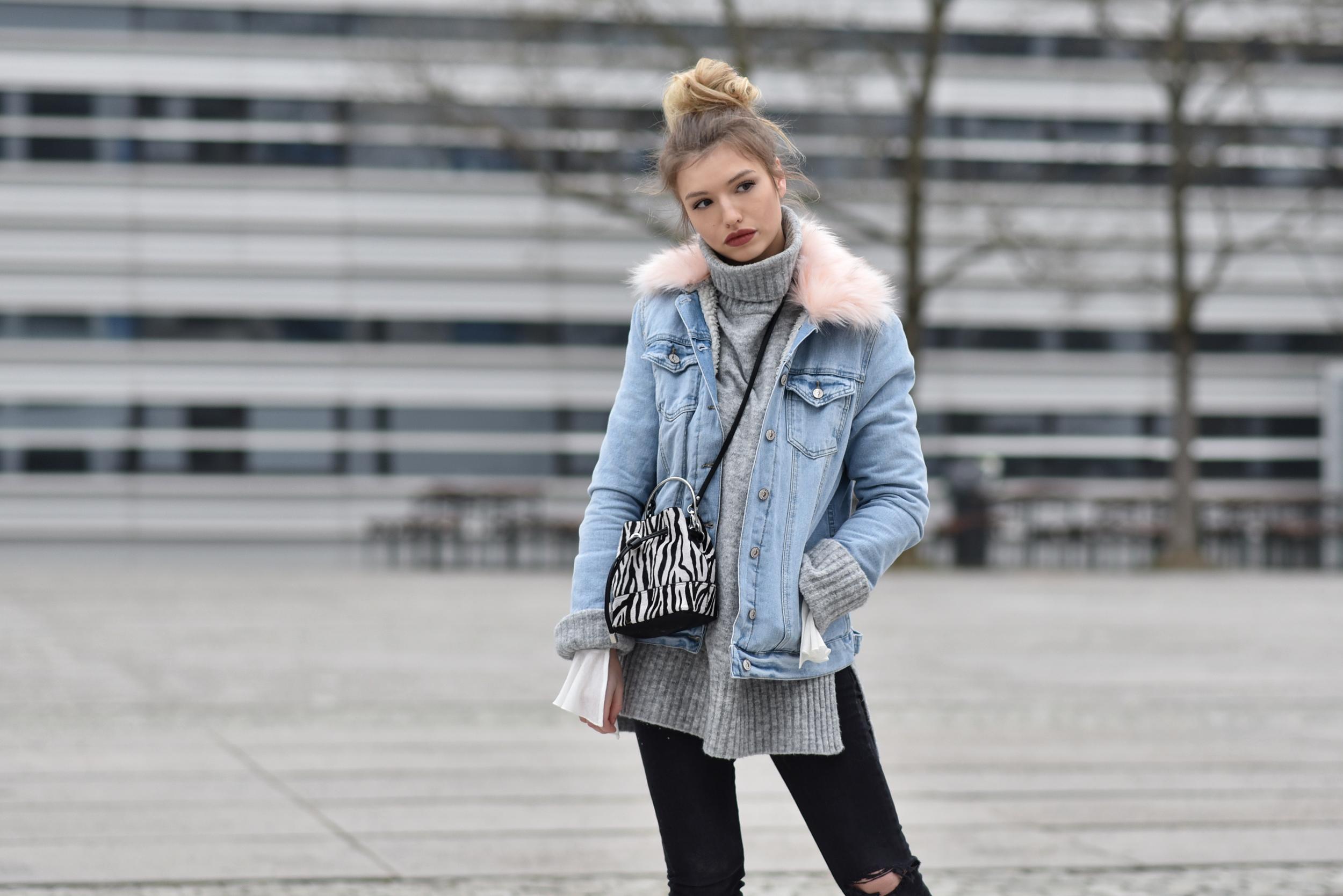Jeansjacke blogger